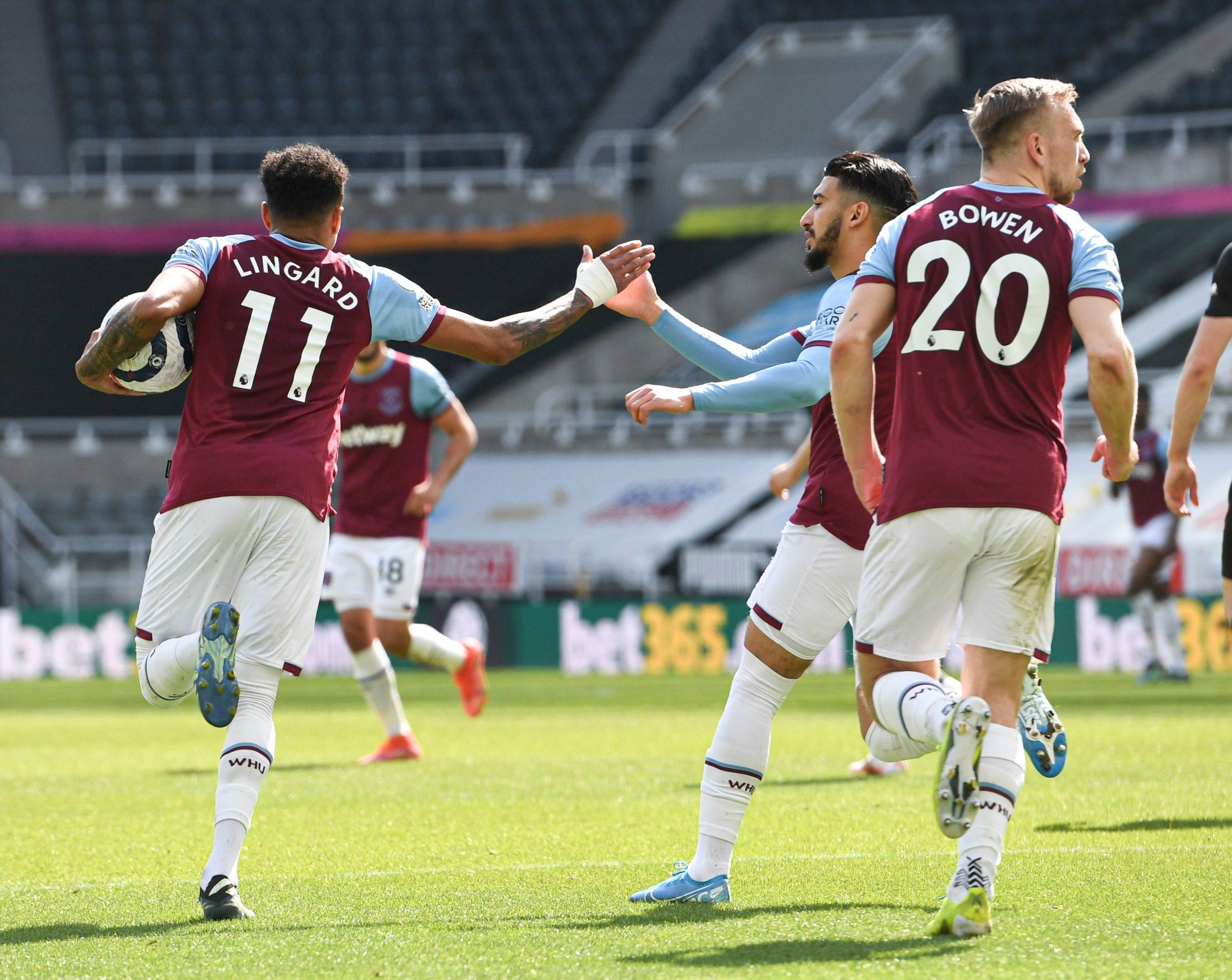 Jesse Lingard at West Ham has put Raheem Sterling's England spot in danger