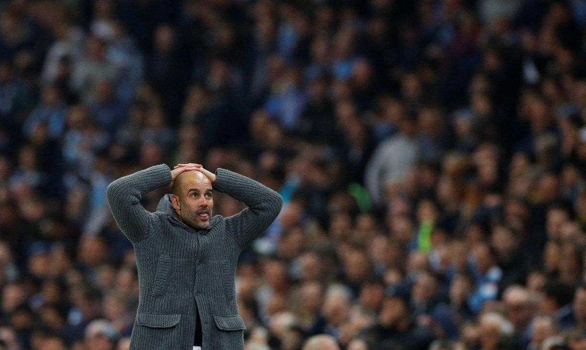 Pep Guardiola worried