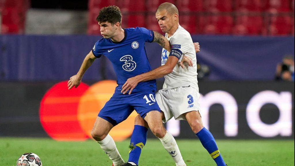 Pulisic vs Porto