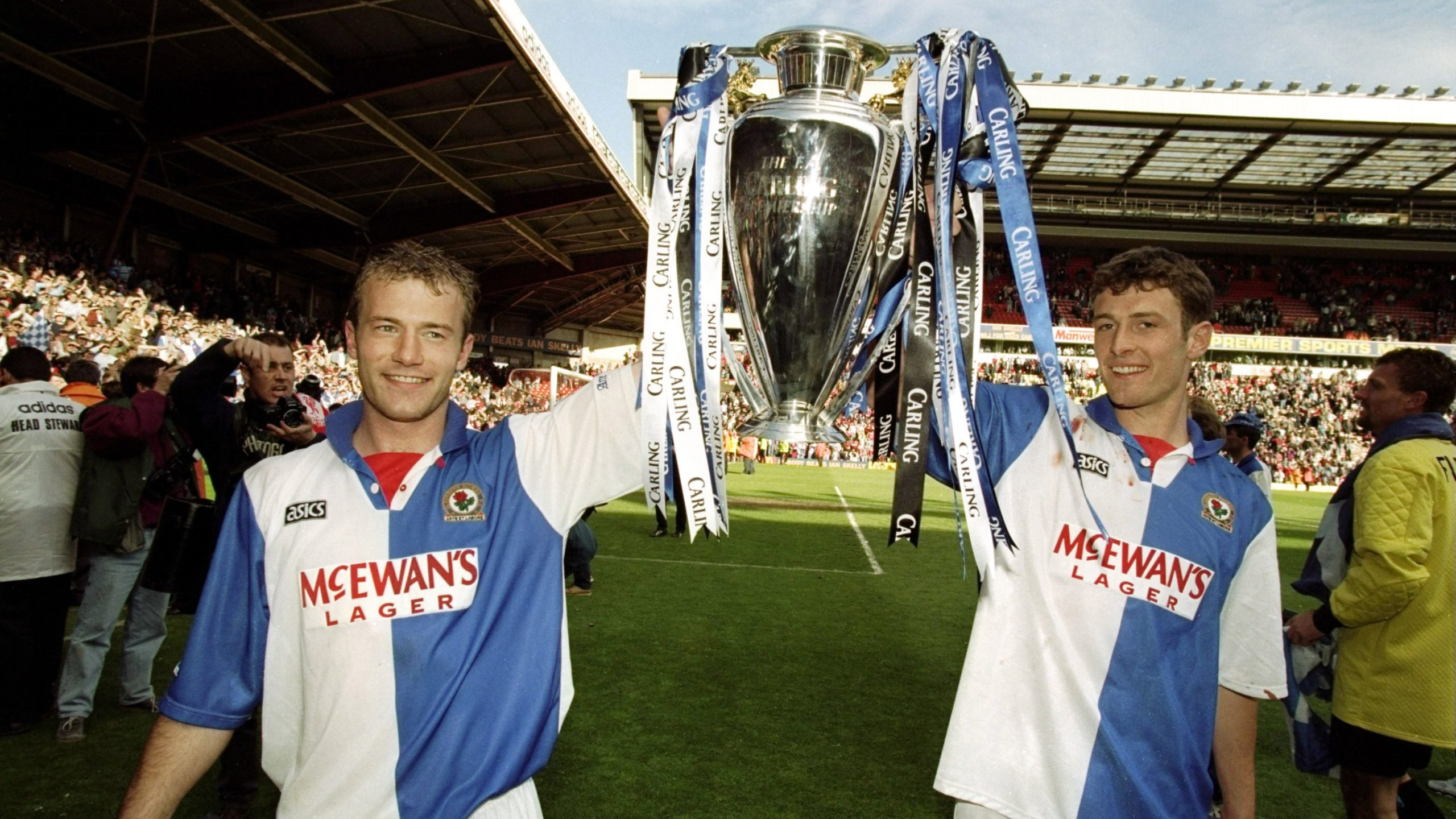 Premier League Hall of fame Shearer and Henry