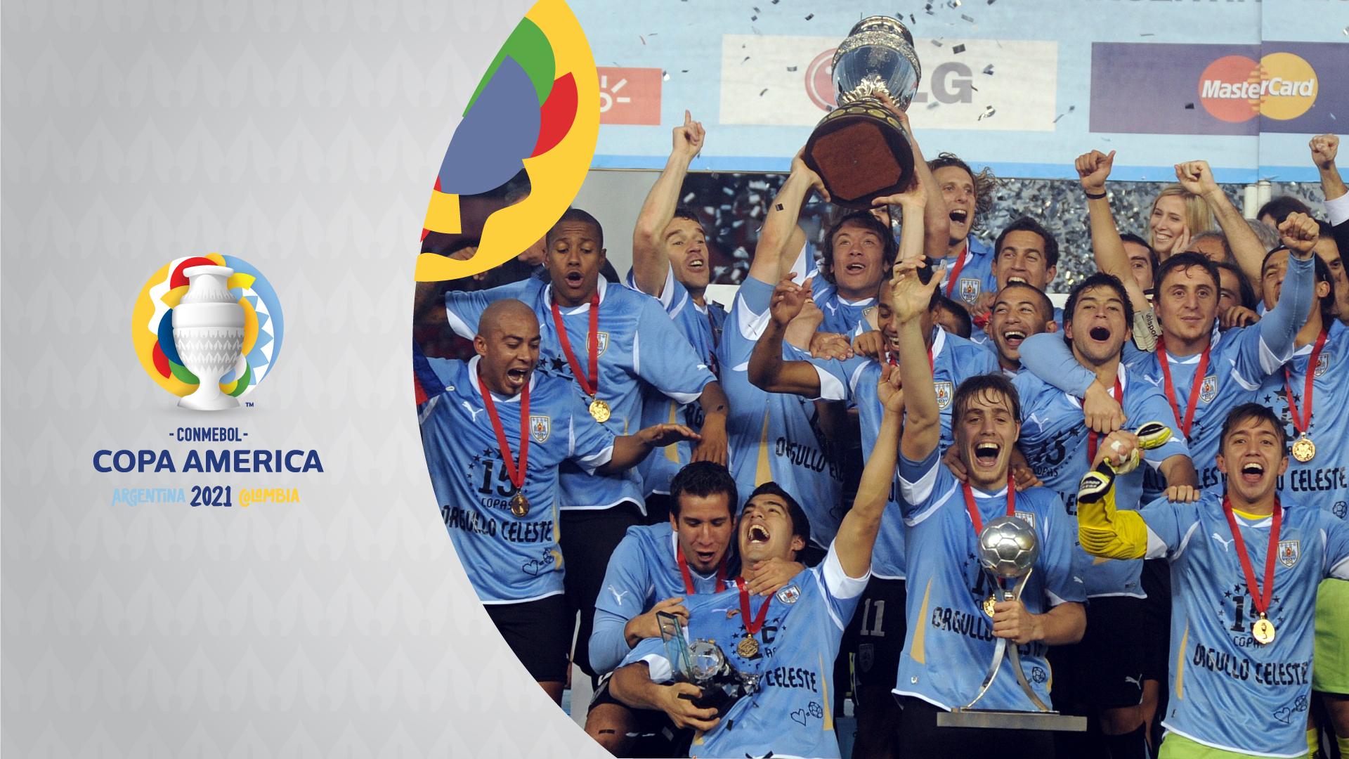 Uruguay Champions Copa America champions