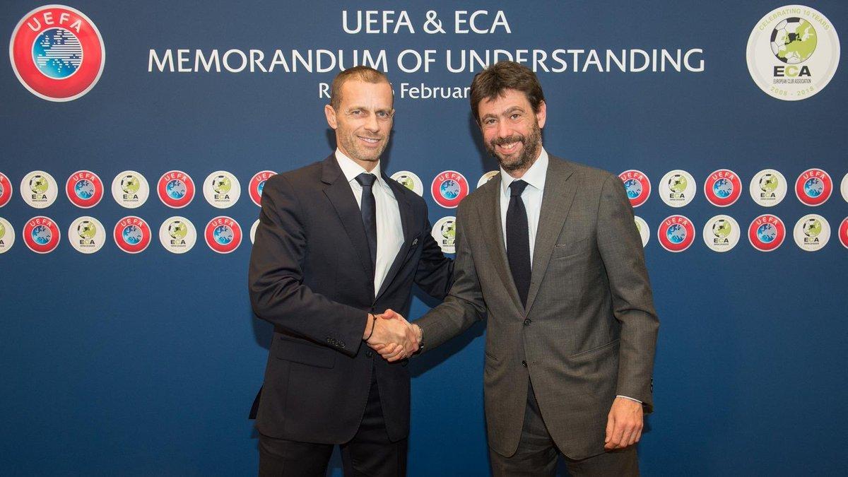 UEFA attack the Super League