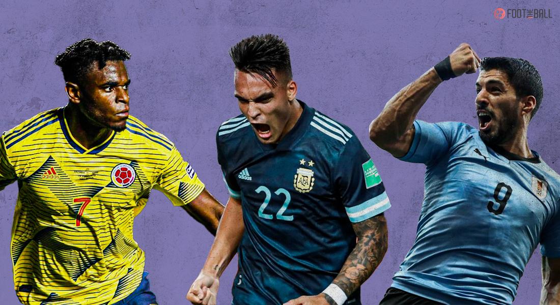 strikers Copa America