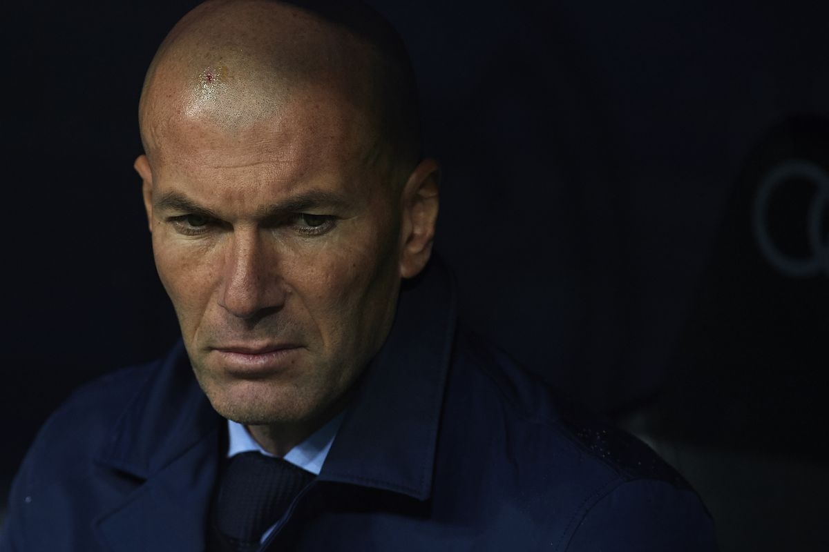 what went wrong for zidane and real