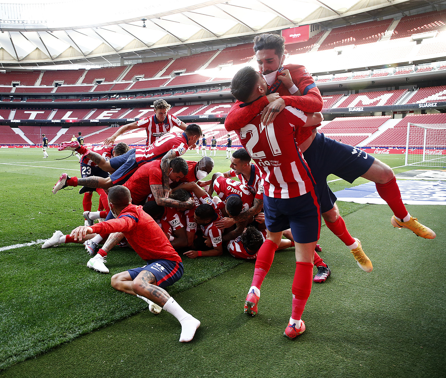 Atletico Madrid La Liga Champions