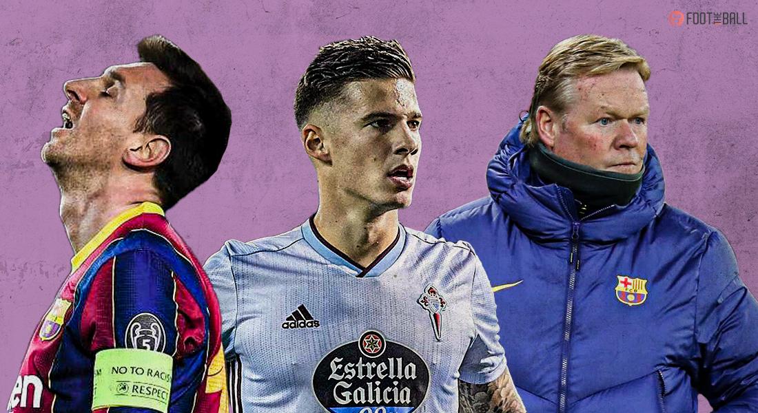 Barcelona vs Celta Vigo match report