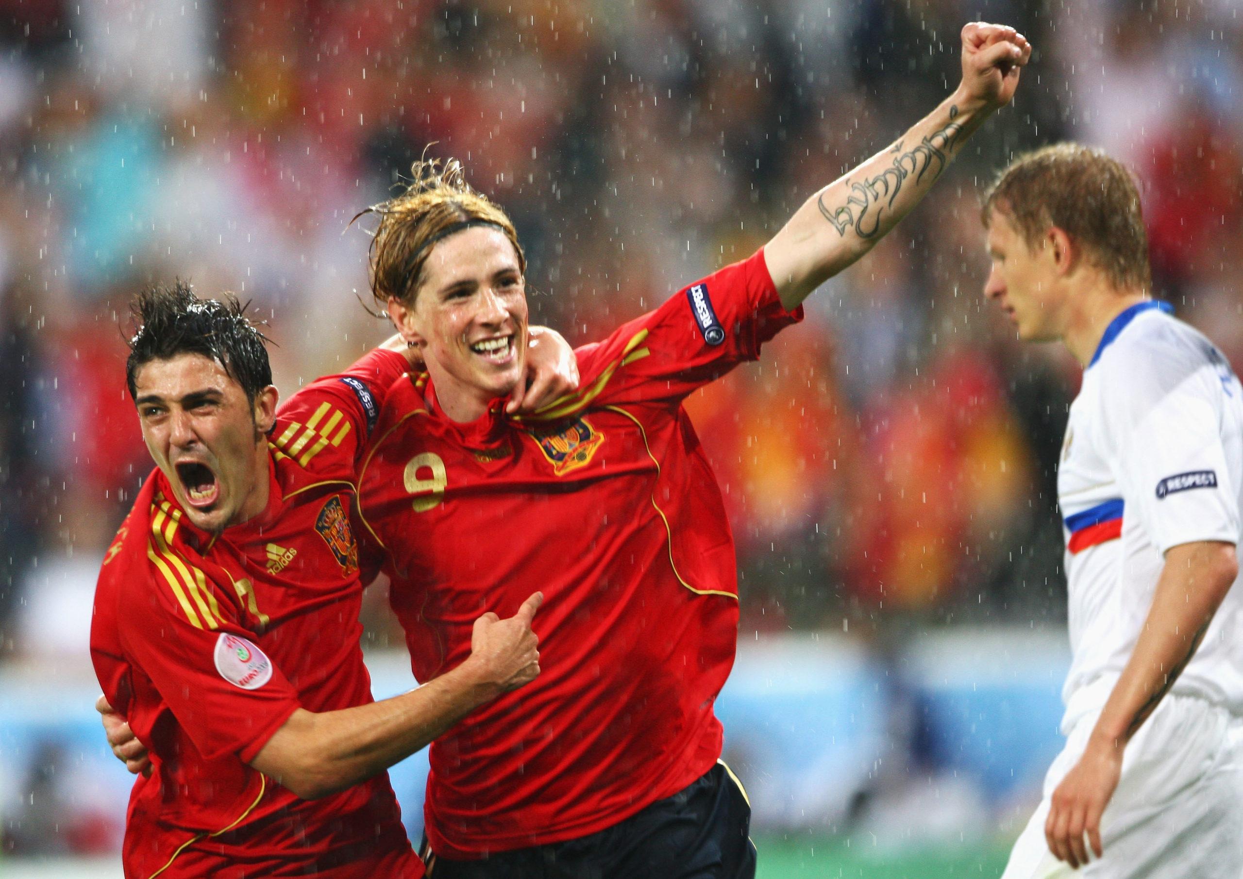 David Villa, Fernando Torres