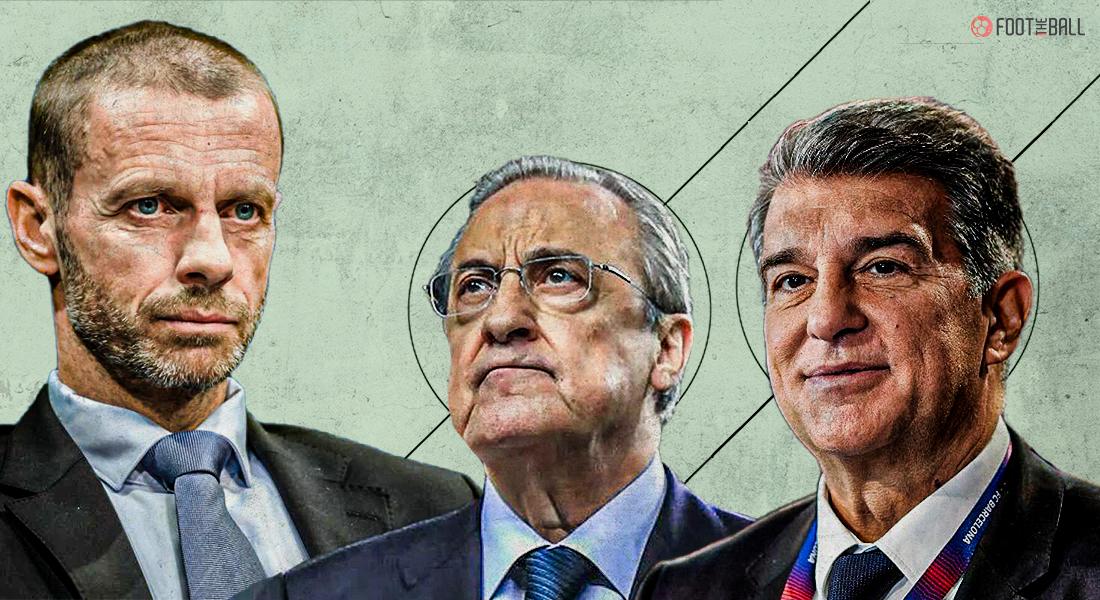 Az UEFA fegyelmi eljárást indít a Barcelona, a Juventus és a Real Madrid ellen