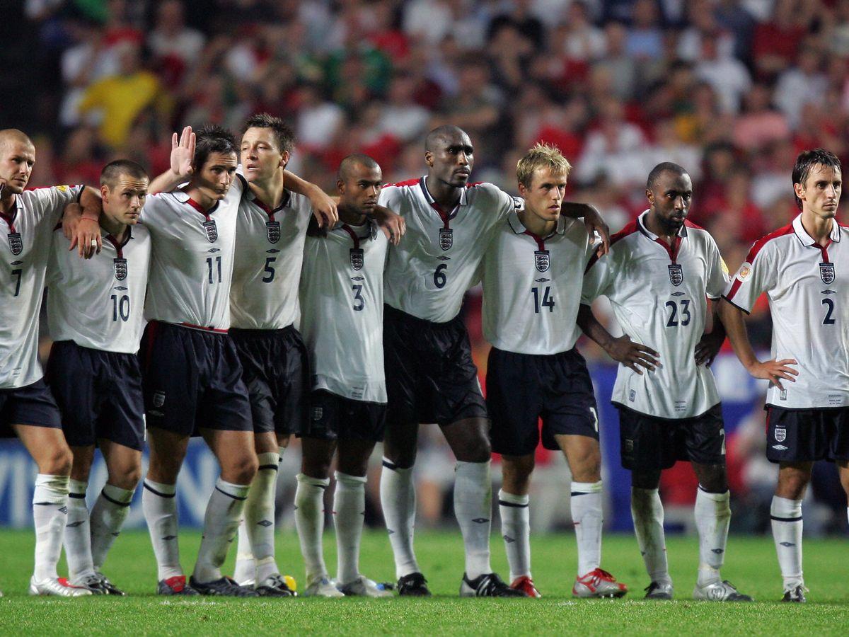 England vs Portugal Euro 2004