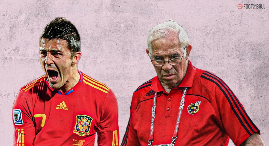 David Villa, Luis Aragones