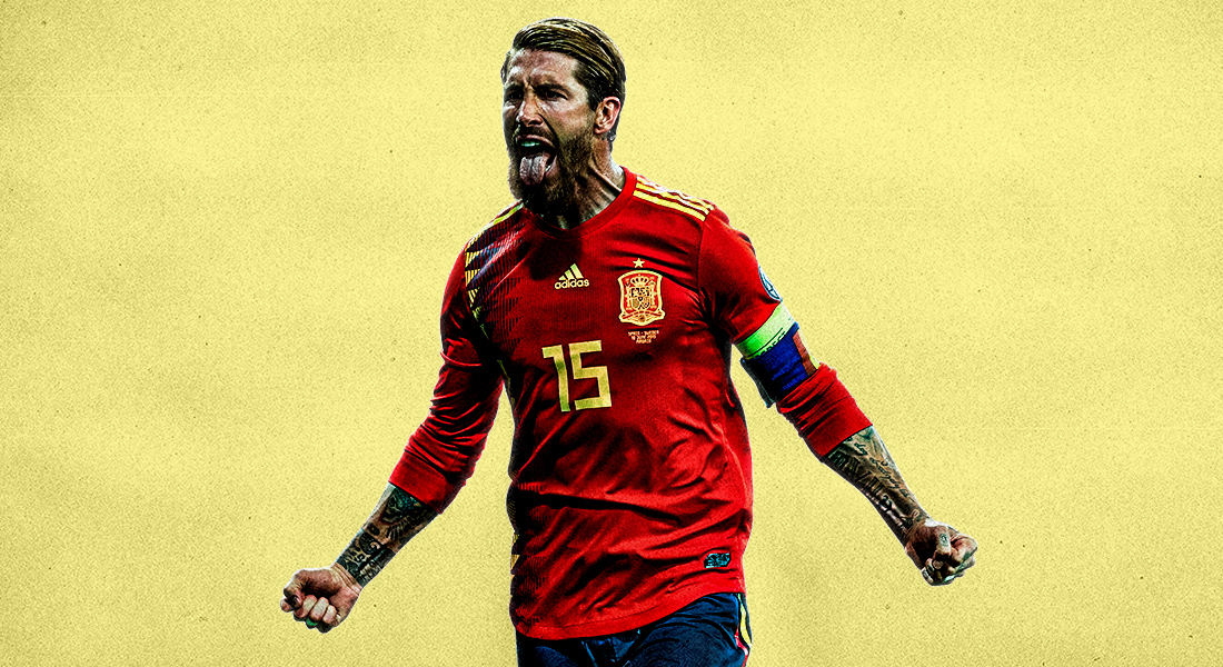 Sergio Ramos left out of Spain squad for Euro 2020