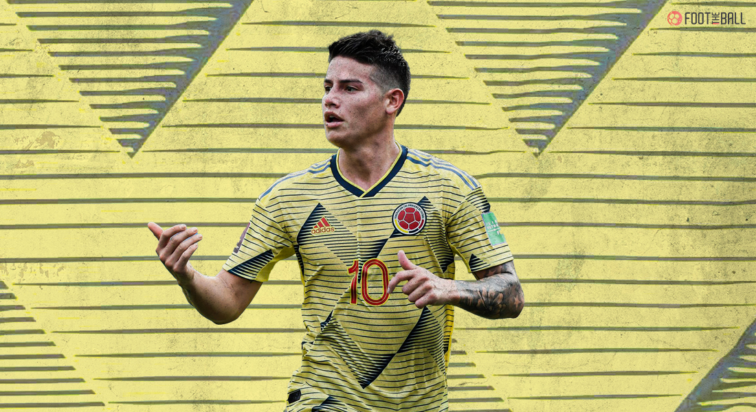 JAMES RODRIGUEZ RULED OUT OF COPA AMERICA