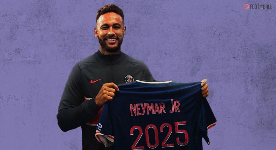 Neymar extends PSG contract till 2025