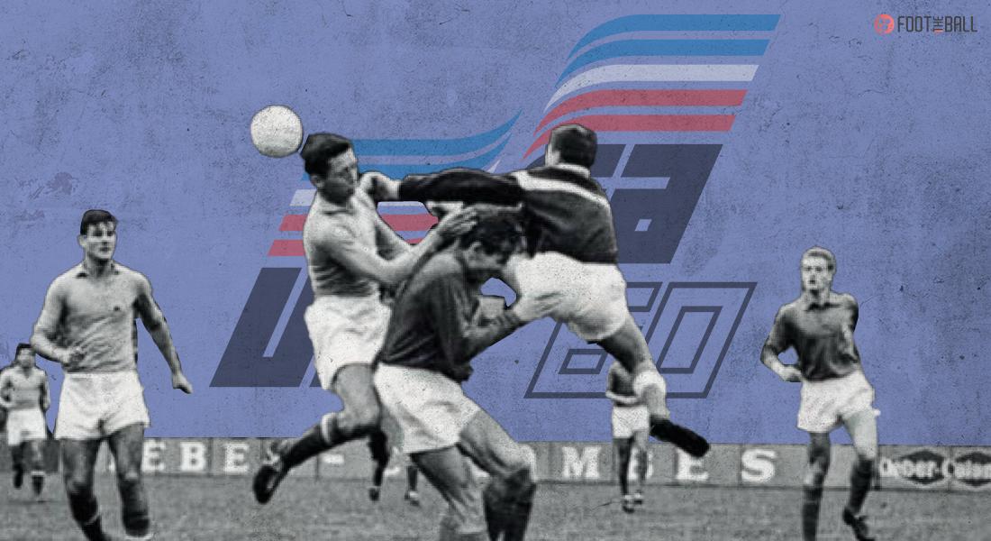 First ever match Euros match France 4-5 Yugoslavia