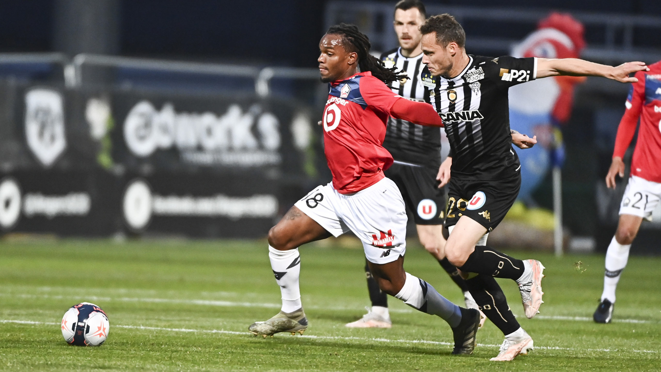 Angers vs Lille report