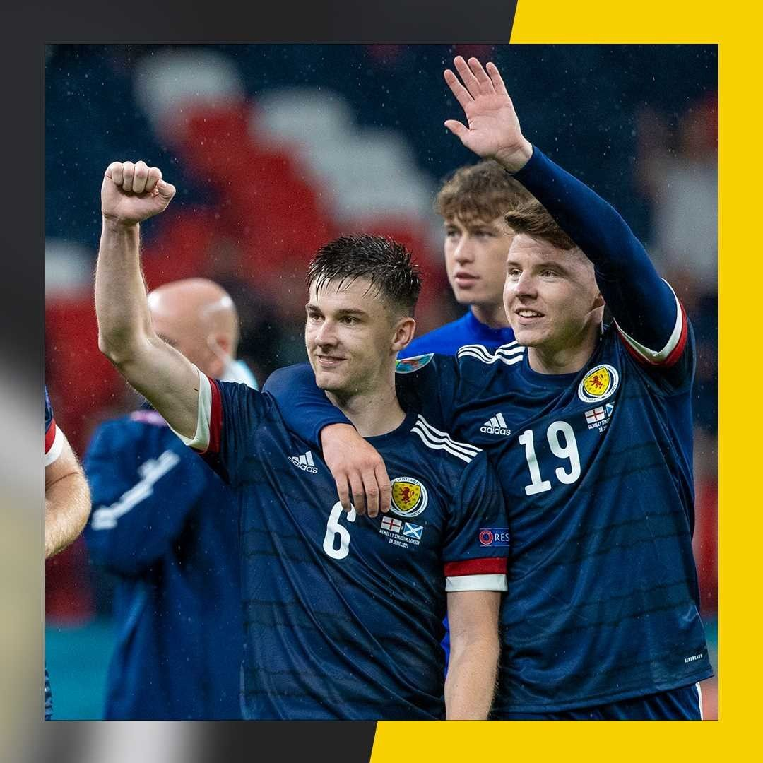 Billy Gilmour and Robertson