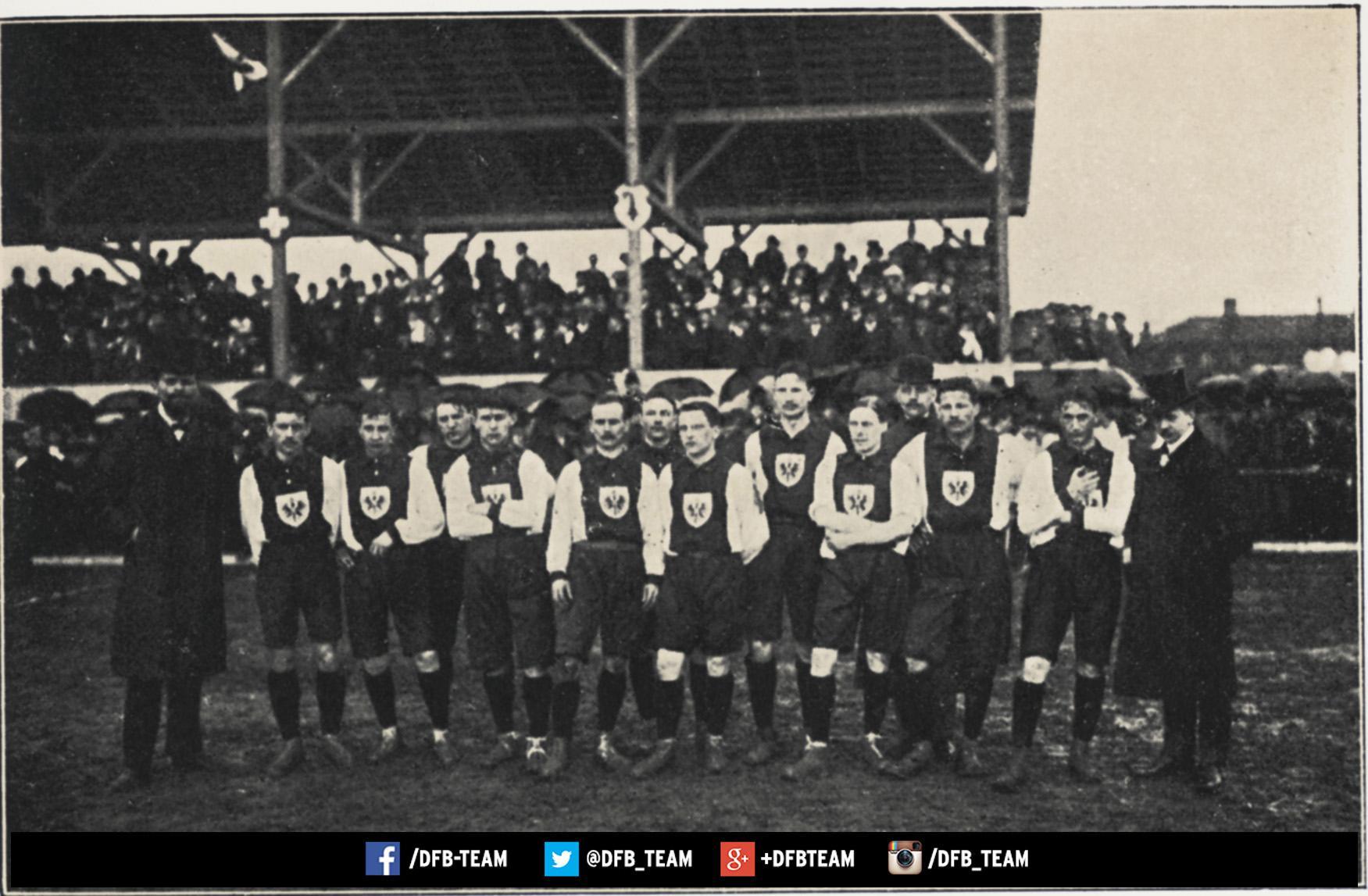 German team 1908