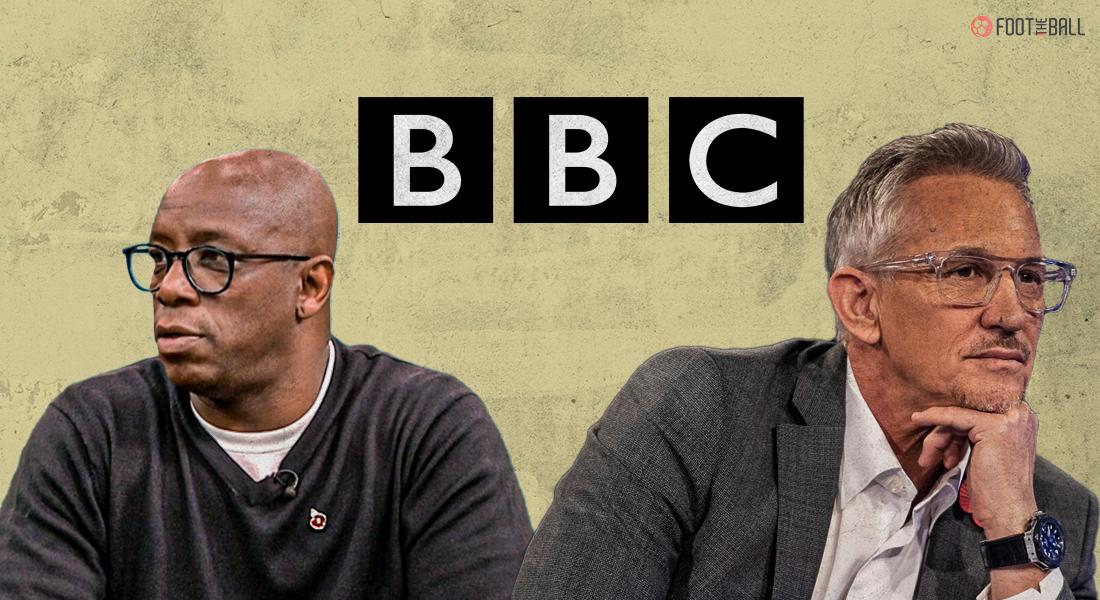 BBC Gary Lineker Ian Wright