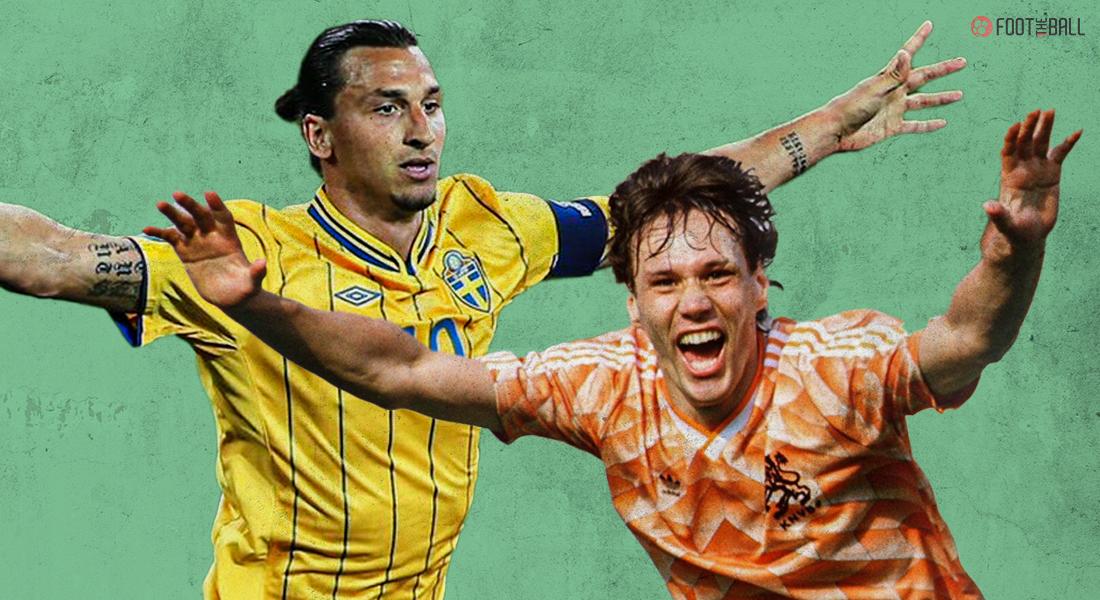 Top 10 goals at Euro