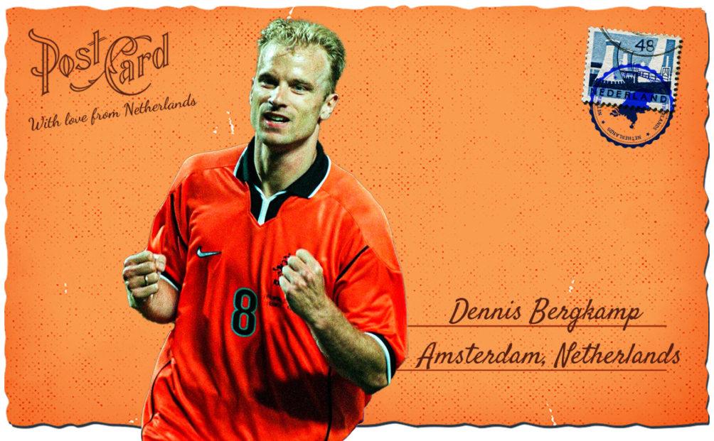 Dennis Bergkamp euro netherlands