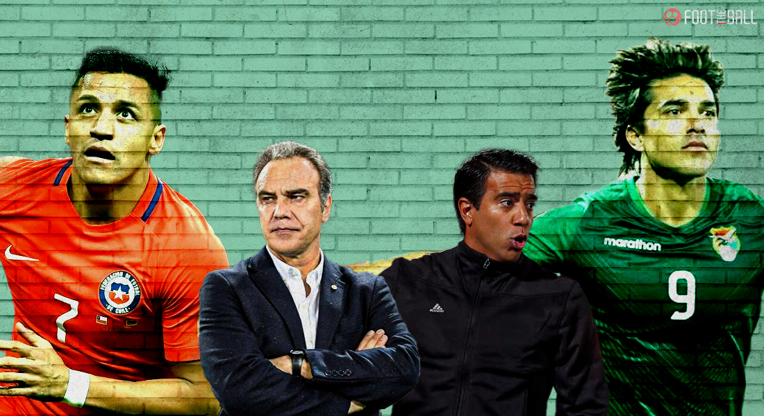 Chile Boliva Copa America 2021