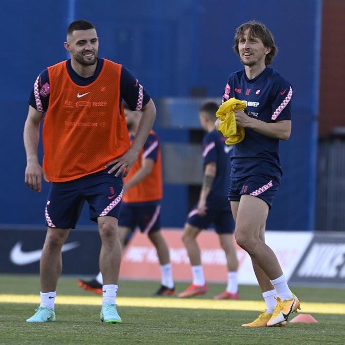 Modric and Kovacic