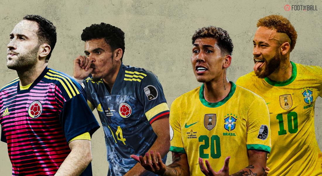 BRAZIL COLOMBIA