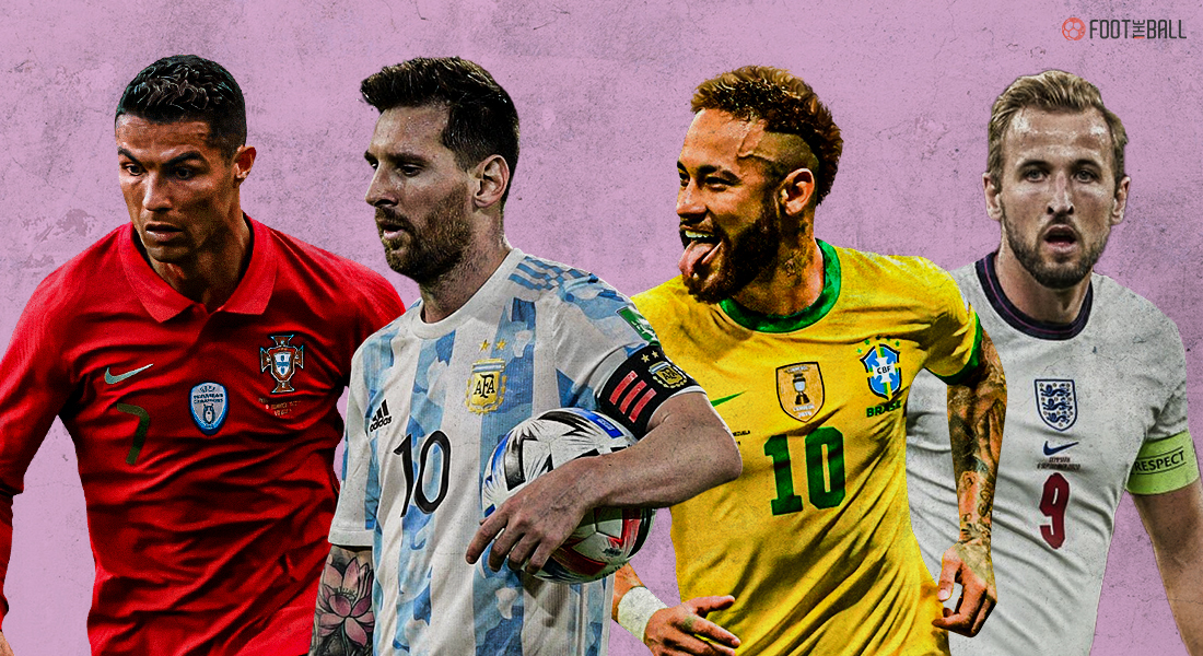 footballers on playing for their nation