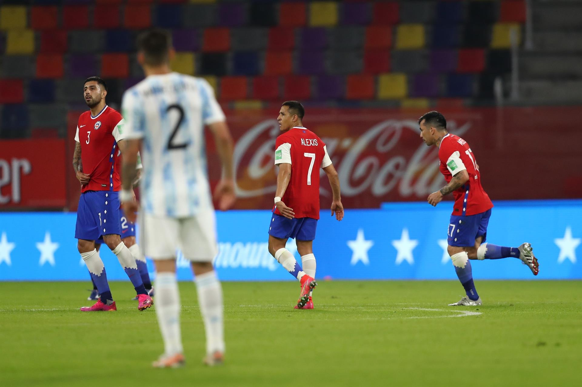 Argentina Chile match report