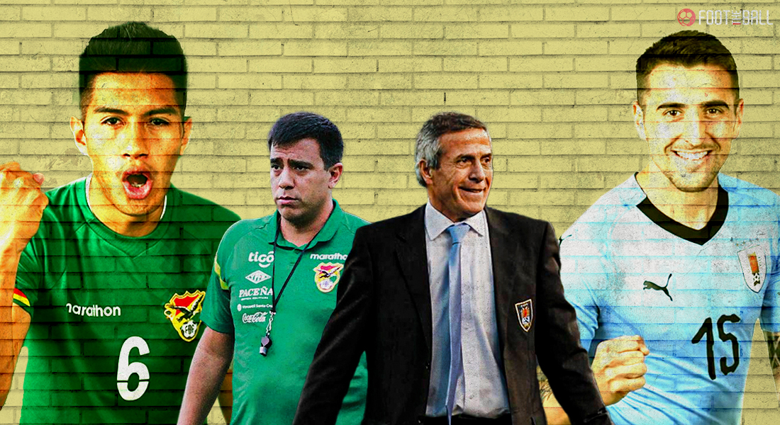 Previous Cup 2021: Bolivia vs Uruguay