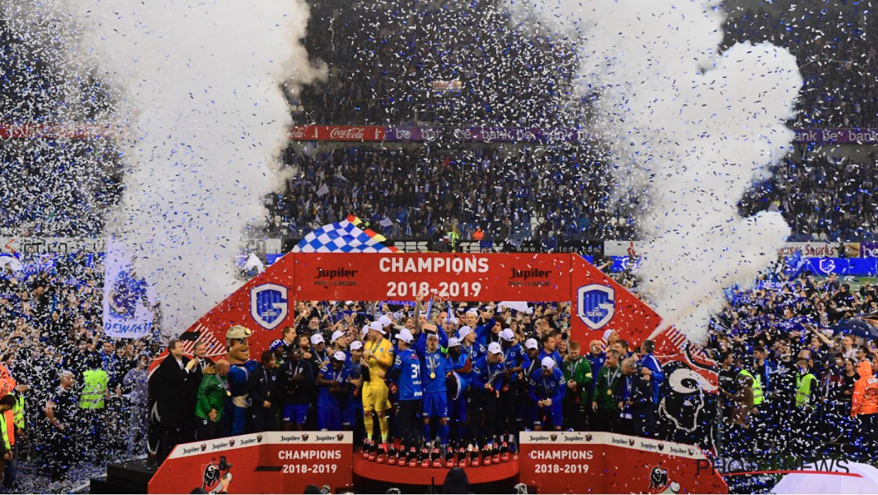 Genk celebrate their fourth JPL titile
