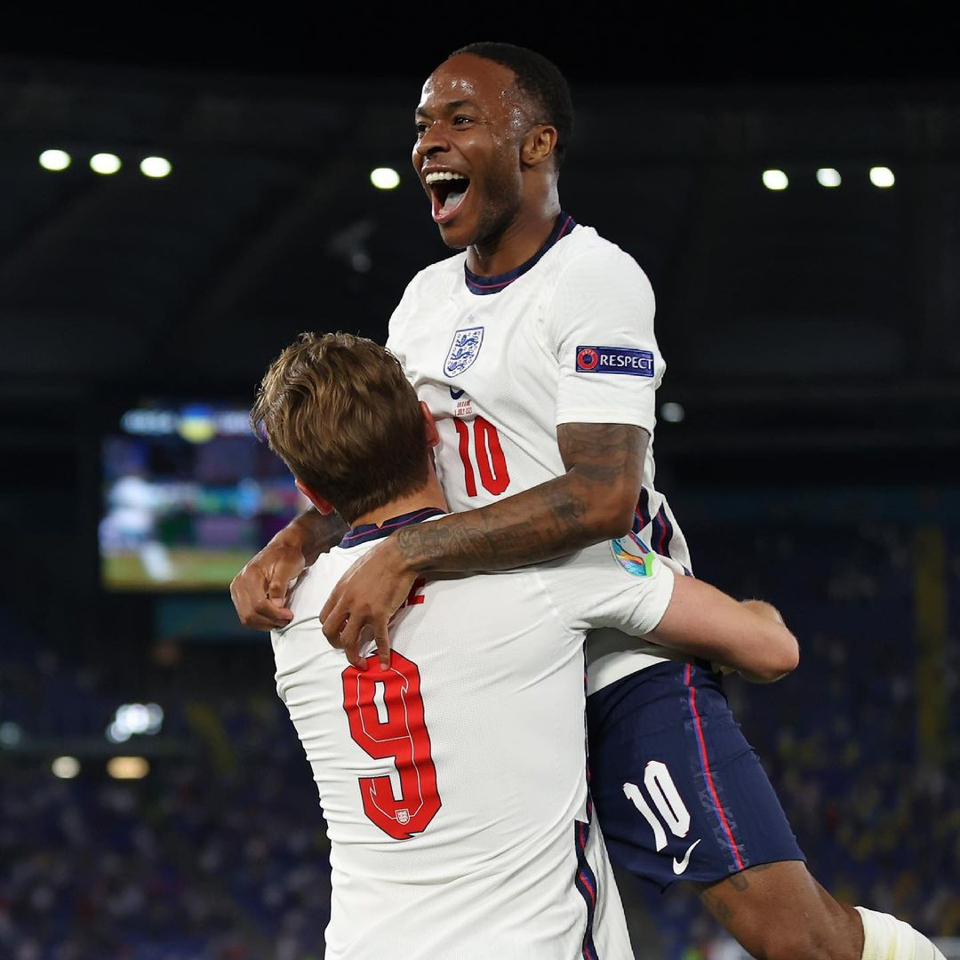 Harry Kane and Sterling