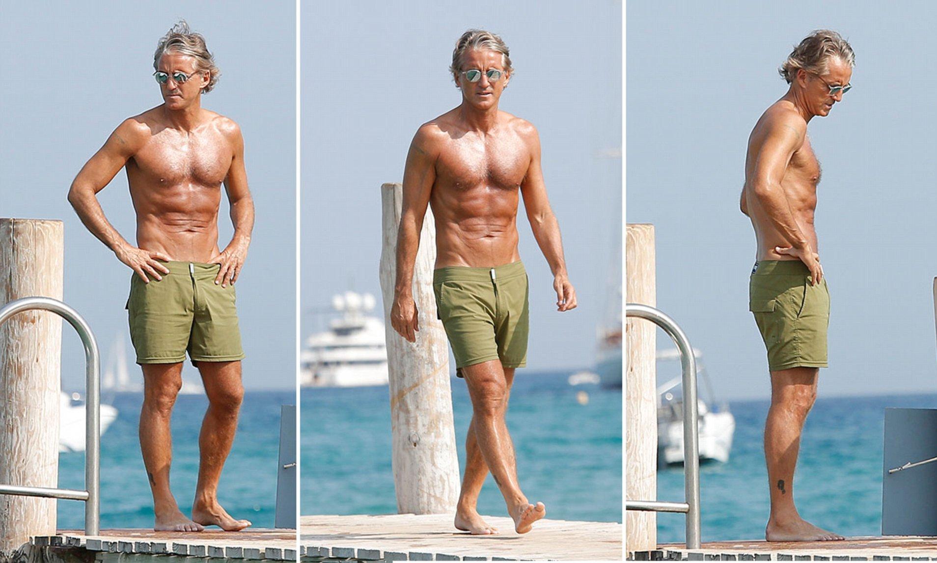 Roberto Mancini body