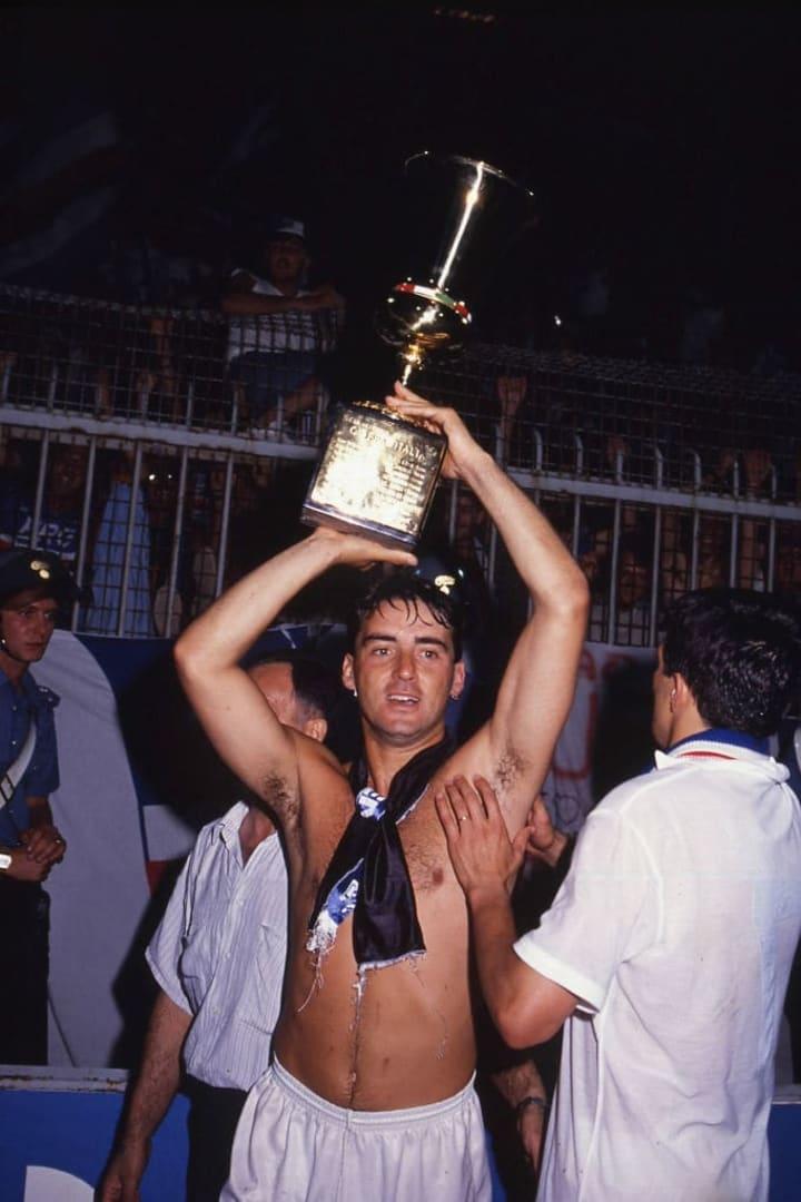 Roberto Mancini Coppa Italia