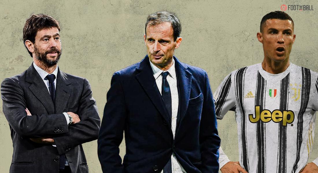 Andrea Agnelli, Max Allegri, Cristiano Ronaldo