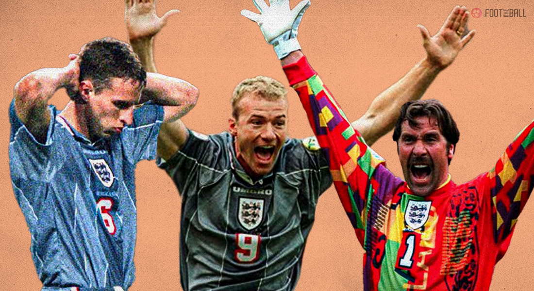 Where are you now?  The England team that reached the semi-finals in 1996