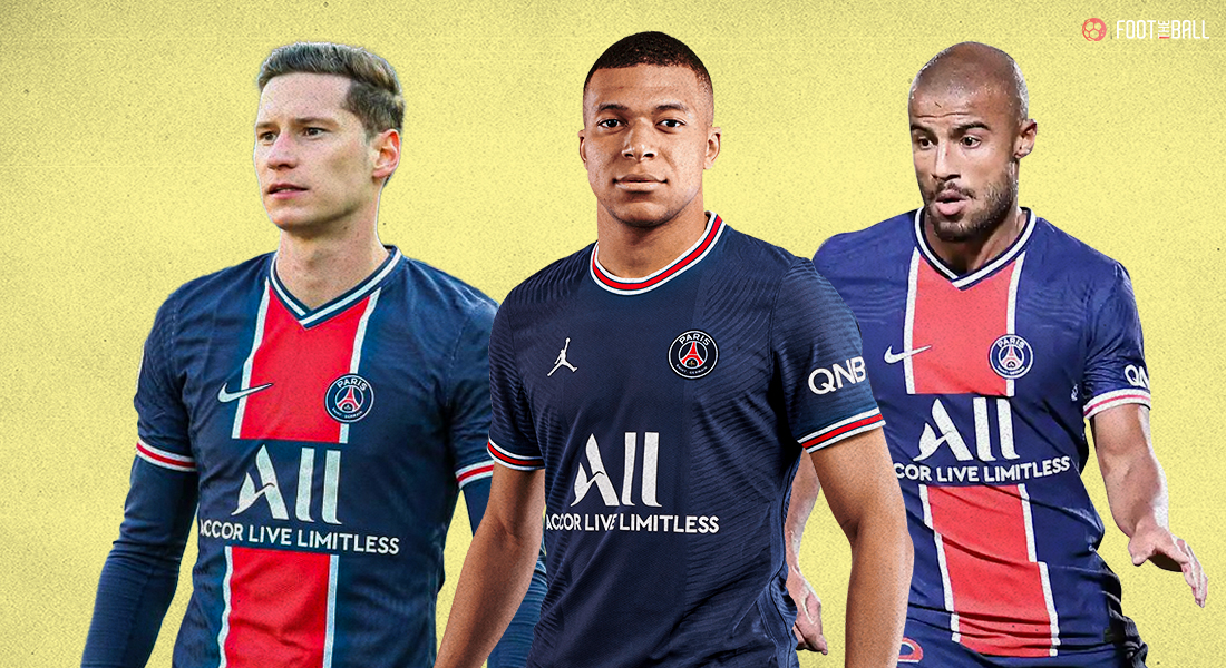 Three players that PSG can sell in summer