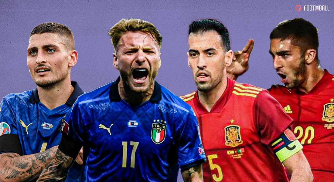 Three key matches in Italy vs Spain to watch out for
