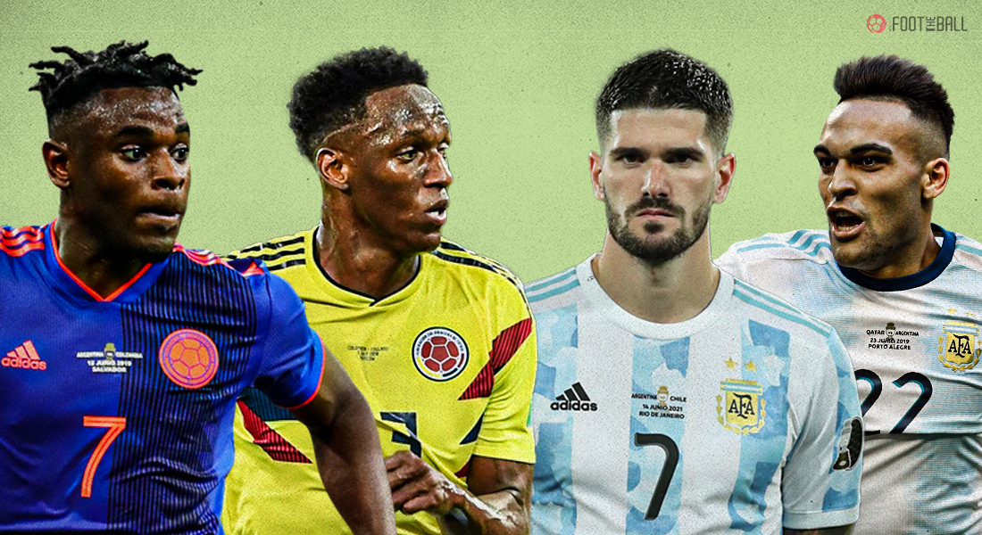Argentina Colombia key matchups