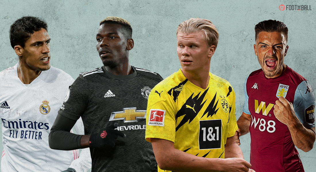 Top 5 Transfer Rumors Of The Summer Ranked: From Grealish To Pogba