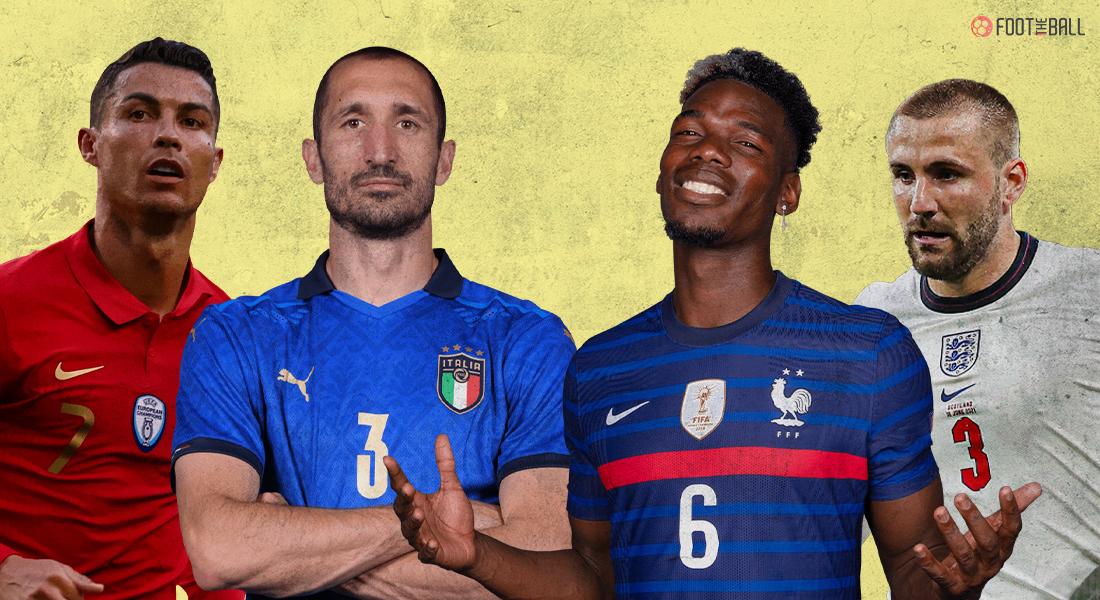 UEFA TeamOf The Tournament Euro 2020