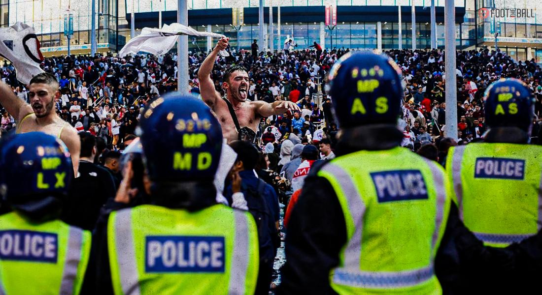 Fans Break Into Wembley