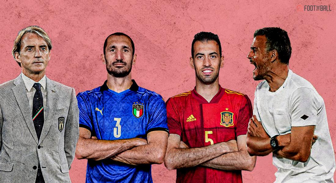 Italy vs Spain- The new evolved Tiki-Taka The future of football