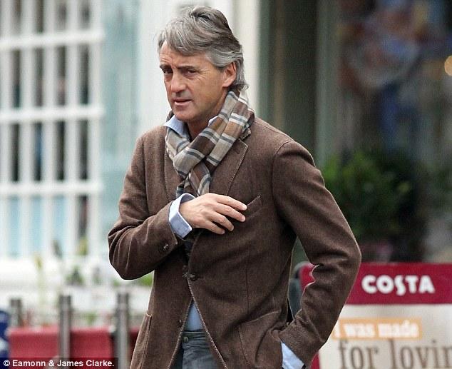 Roberto Mancini suit