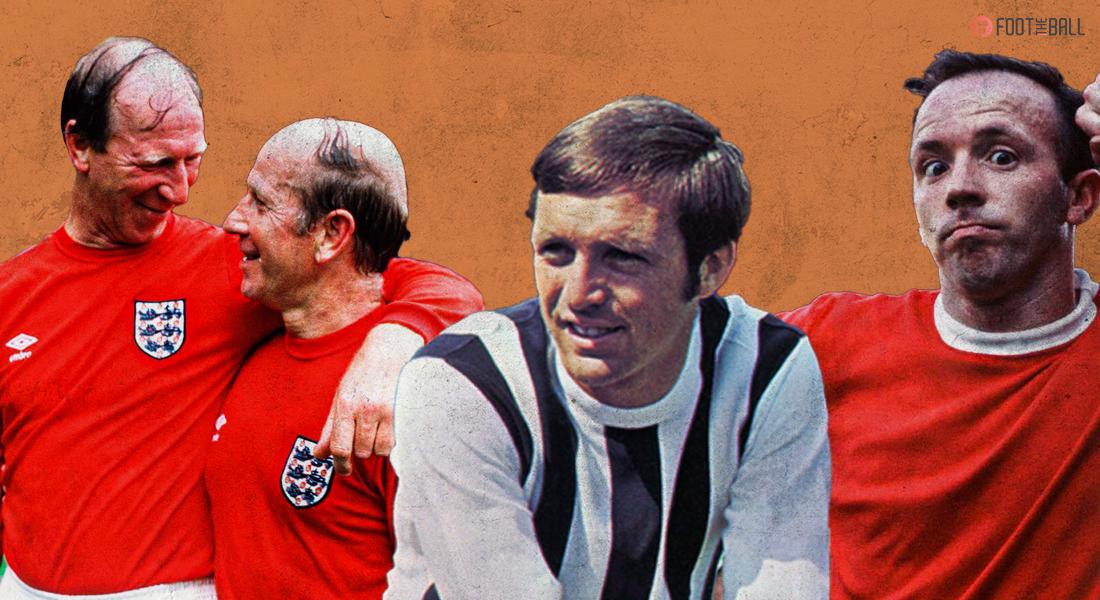 Jack Charlton, Bobby Charlton, Jeff Astle, Nobby Stiles