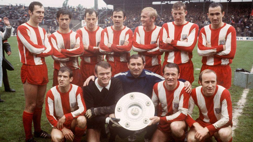 The Bayern Munich team that won the Bundesliga in 1969