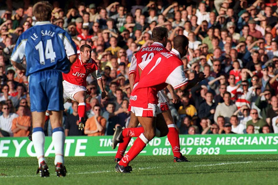 Arsenal vs Chelsea 1997