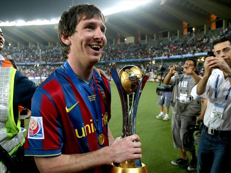 Messi world records
