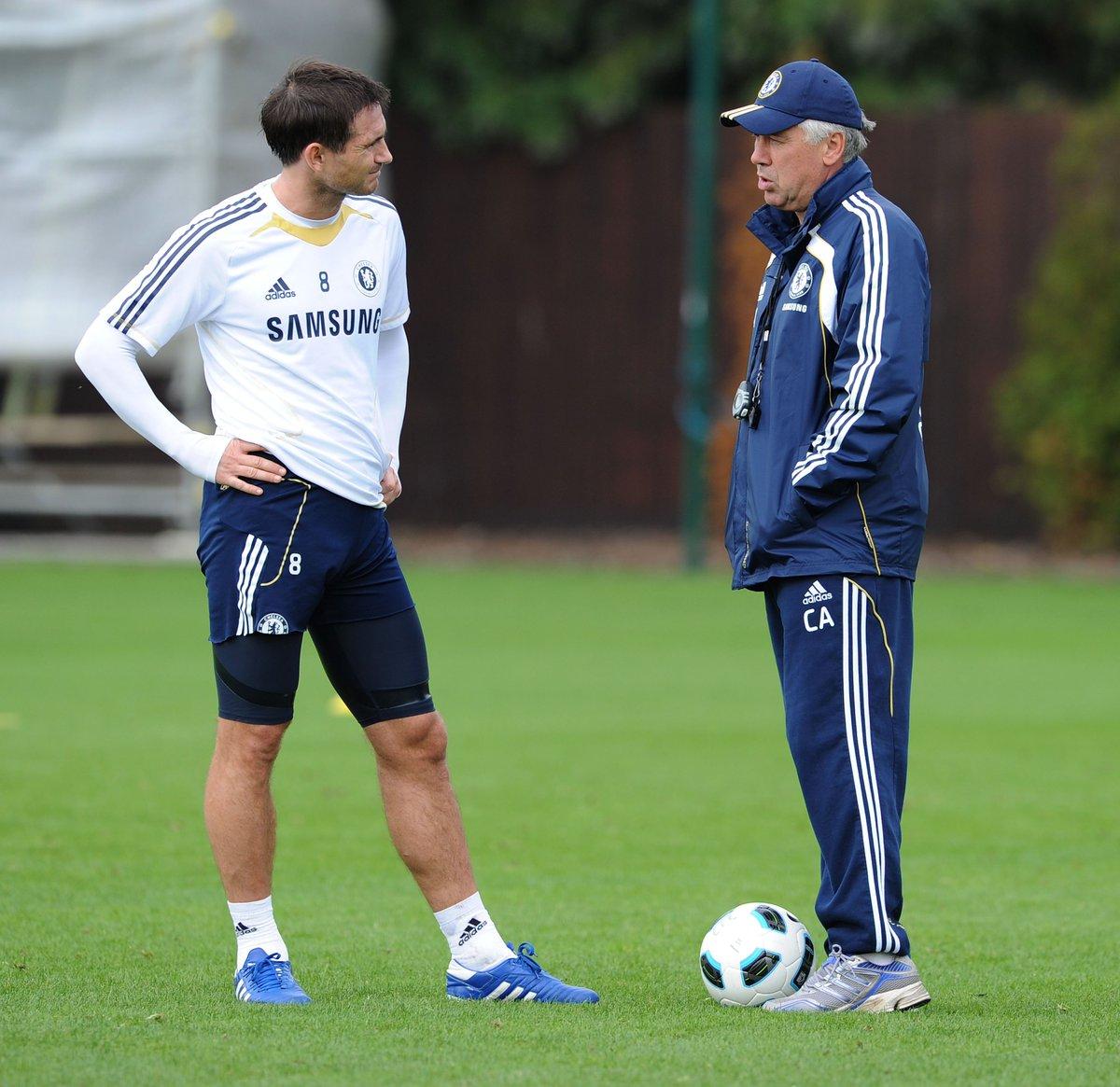 Ancelotti and Lampard
