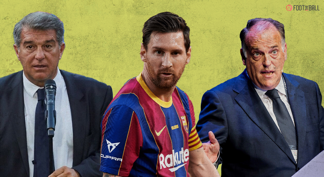 Why is Lionel Messi leaving Barcelona